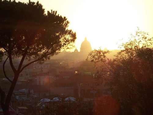 Rome - view from Villa Borghese