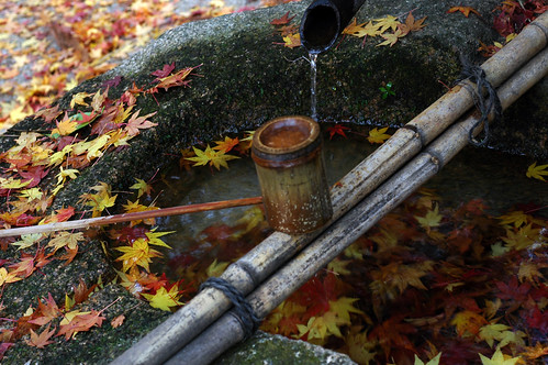 Do we wash our hands by MOMIJI water?