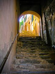 Stairway, Montalcino