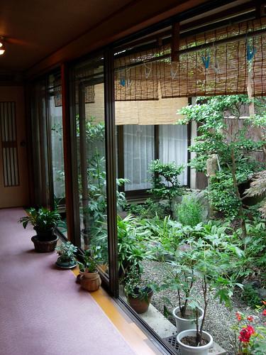 Ryokan's garden by Suviko.