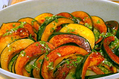 Roasted Acorn Squash with Chile-Lime Vinaigrette