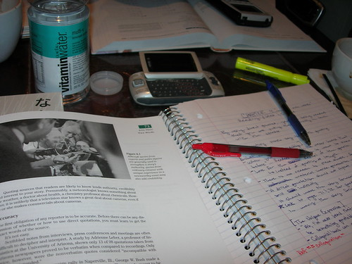 study time by calebcherry, on Flickr