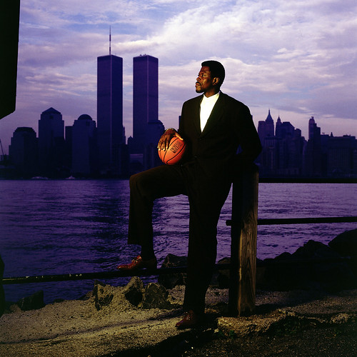 Patrick Ewing, World Trade Center, Flash Fiction