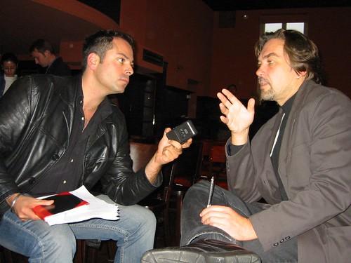 An Interview with the famous ukrainian writer Jury Andruchowitsch von Ihnen.