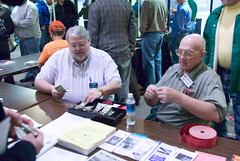 "671B4171: Len/KG6ZR and Bill/KC4VXH Sell Tickets • <a style=""font-size:0.8em;"" href=""http://www.flickr.com/photos/54494252@N00/15168574/"" target=""_blank"">View on Flickr</a>"