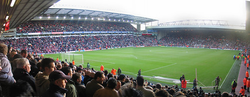 Anfield - from the away section