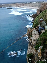 Old Man and the Sea in Sagres, Portugal