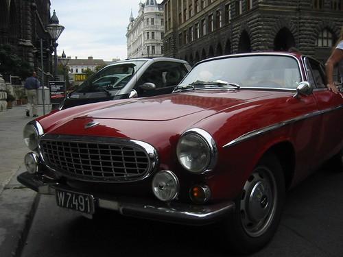 Simon Templar - das Auto in rot