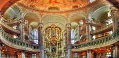 Dresden - Frauenkirche Inside (stitch)