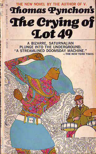 "Book Covers - Thomas Pynchon's ""The Crying of Lot 49"" by Clampants."