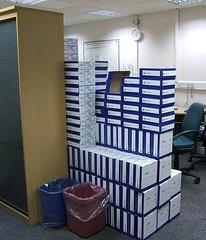 Piles of work