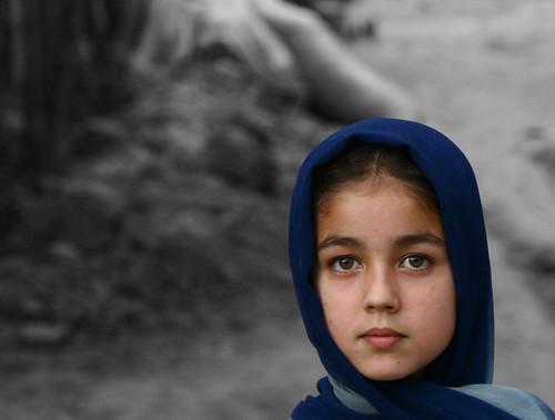 Yound Afghan girl