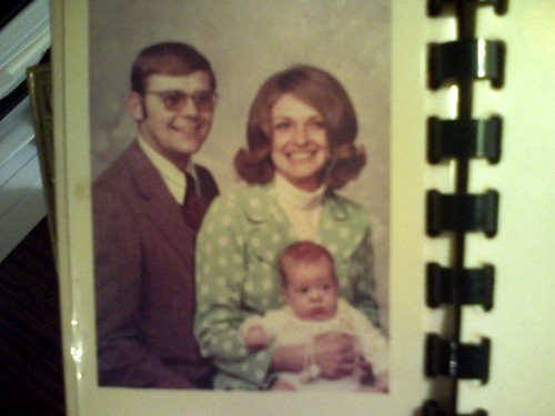 Family photo from the 70s
