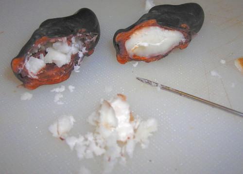 Inside of demon nut  (Trai Au)