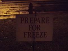 Prepare for Freeze!