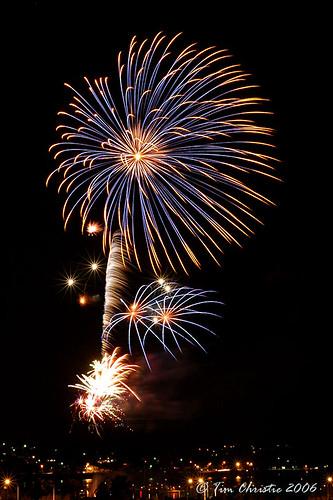 Fireworks Speers Point 2
