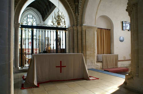 Cuddesdon, Oxfordshire - Lent array