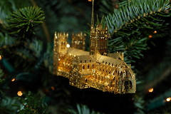 Christmas ornament of the National Cathedral