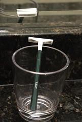 Bic Razor in Acrylic Glass