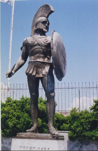 981575-He_stands_proud_outside_the_stadium_of_Sparta-Sparta