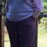 Sideways Knitted Sweater Vest