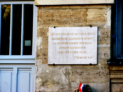 I remember wondering around the Marais when I lived in Paris, sensing the gravity of these peoples murder
