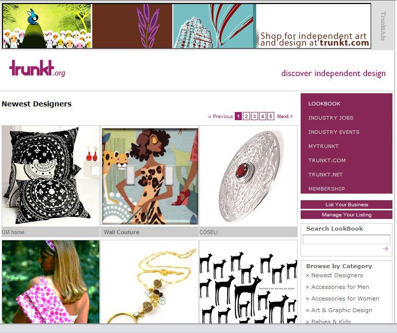 Discover Independent Design: *New* Trunkt LookBook!