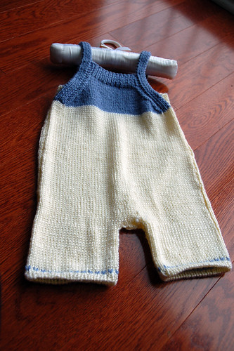 baby suit by mom (front)