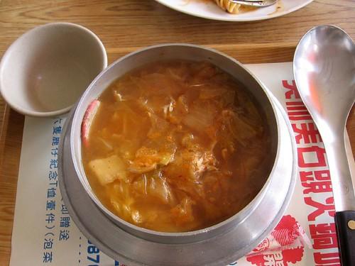 kimchi hotpot
