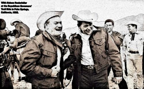 Rockefeller and Reagan