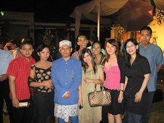 Rendro's sister's wedding party.