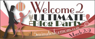 banner blog party