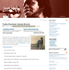 Samples from Funky Drummer (James Brown)