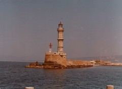 Lighthouse, Canea Harbor, Crete