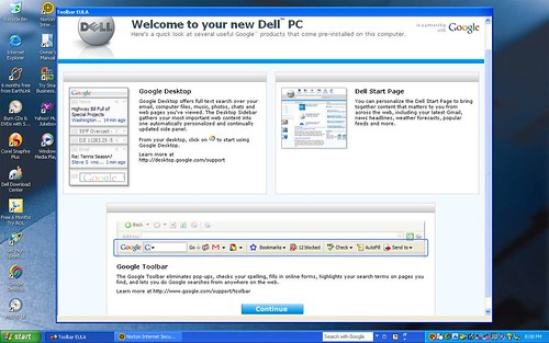 Dell powered by Google
