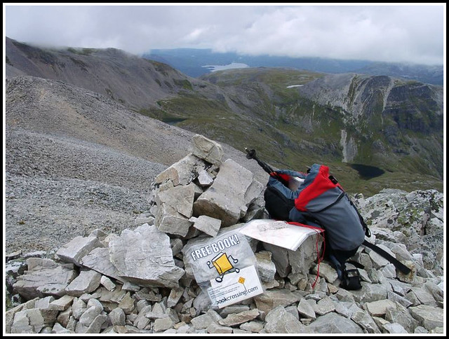 Bookcrossing on Ben More Asynt