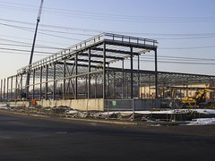 Shaw's Supermarket construction, Wakefield, MA