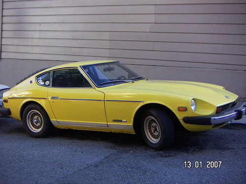 Beautiful looking Datsun 280Z just off Haight