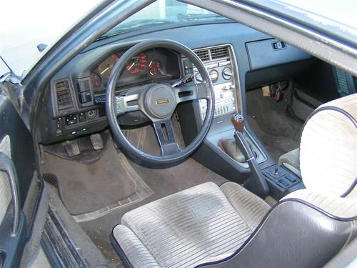 1985 Mazda Rx-7 GSL interior
