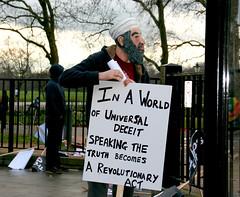 Osama Bin Laden, Anti-War March, Hyde Park Cor...