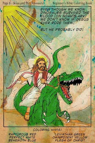 Jesus and the Dino