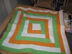 Blanket, finished