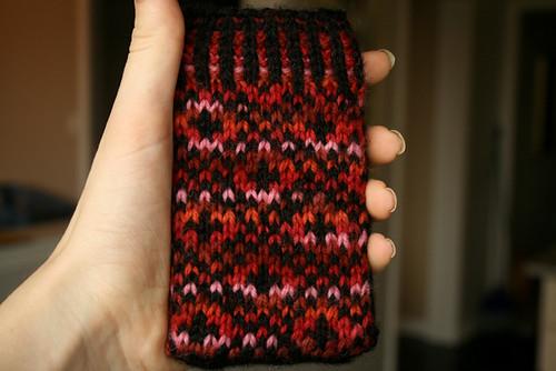 endpaper ipod sock