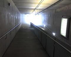 Outside entrance to underground Skinker Metrolink station