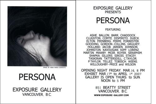 Persona @ Exposure Gallery