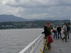 Ferry Crossing from Horseshoe Bay to Nanaimo, B.C.