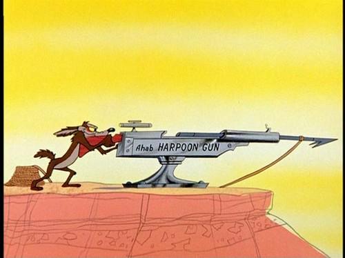 Ahab harpoon gun by Dystopos.