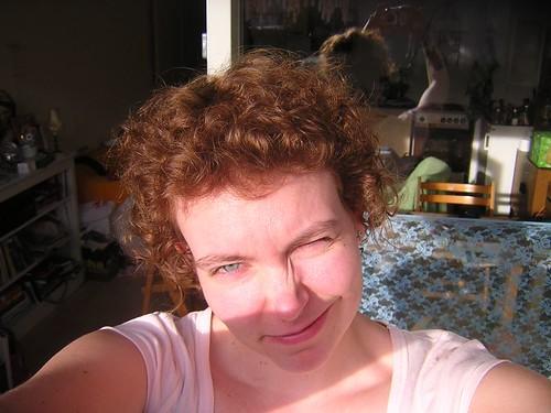 nieuw haar (de kleur dan)