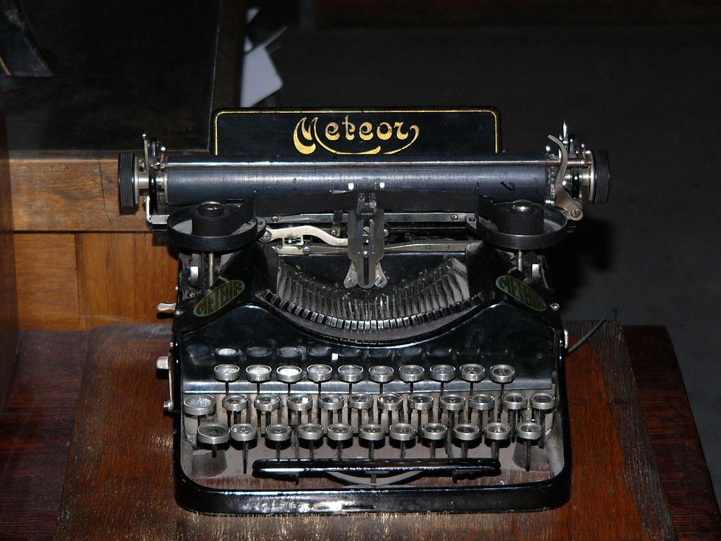 Old Typewriter of the Print Room