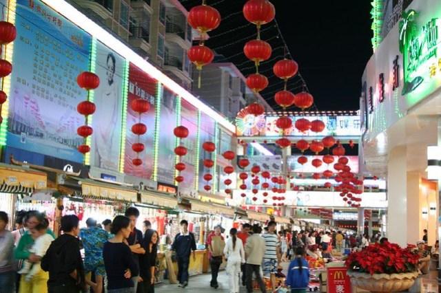 Chinese lanterns galore